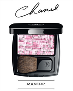 Chanel Les Tissages De Chanel Blush Duo Tweed Effect