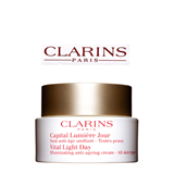 Clarins Vital Light Day Illuminating Anti-Ageing Cream – All Skin Types