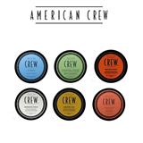 American Crew Fiber, Cream, Clay, Paste, Pomade